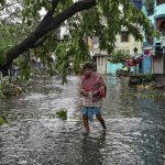 Cyclone kills at least 82 in India and Bangladesh, flooding lowlands